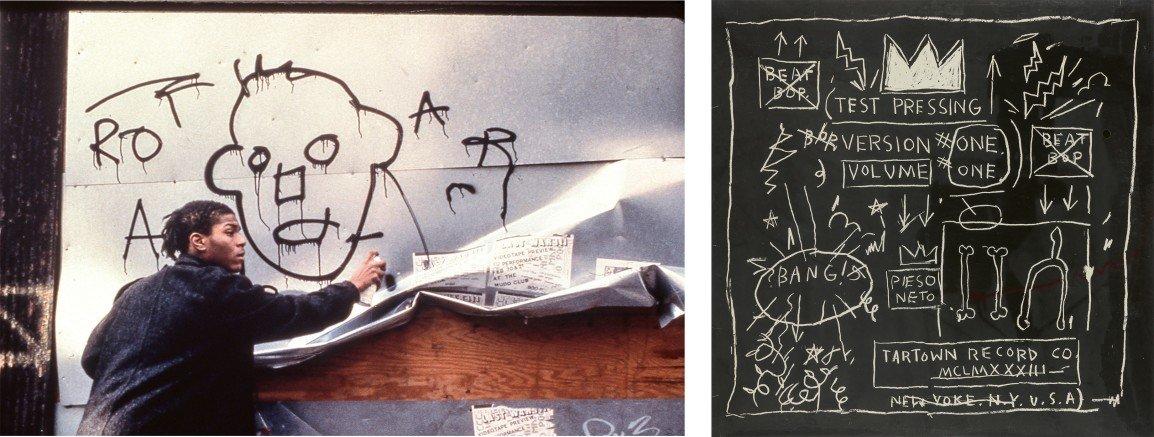 Jean-Michel Basquiat, Street Art, Graffiti, Hip Hop