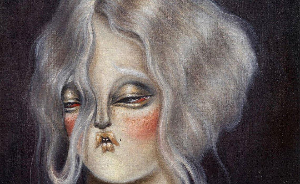 Miss Van, Pale Moonlight Muses, Dorothy Circus Gallery, London